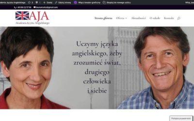 Nowa strona www Akademii Języka Angielskiego