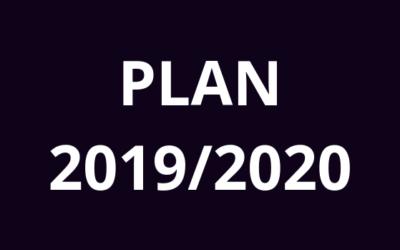 Plan zajeć 2019/2020
