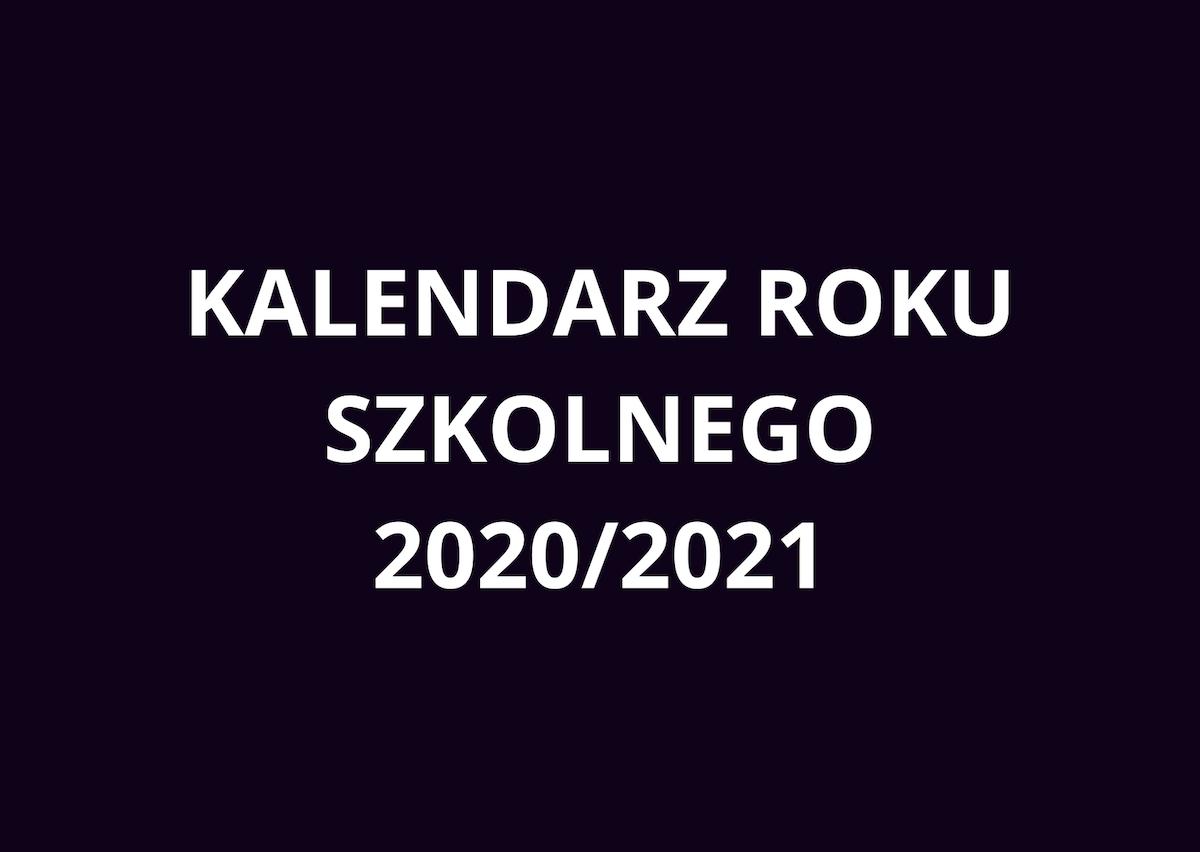 kalendarz 2020/2021