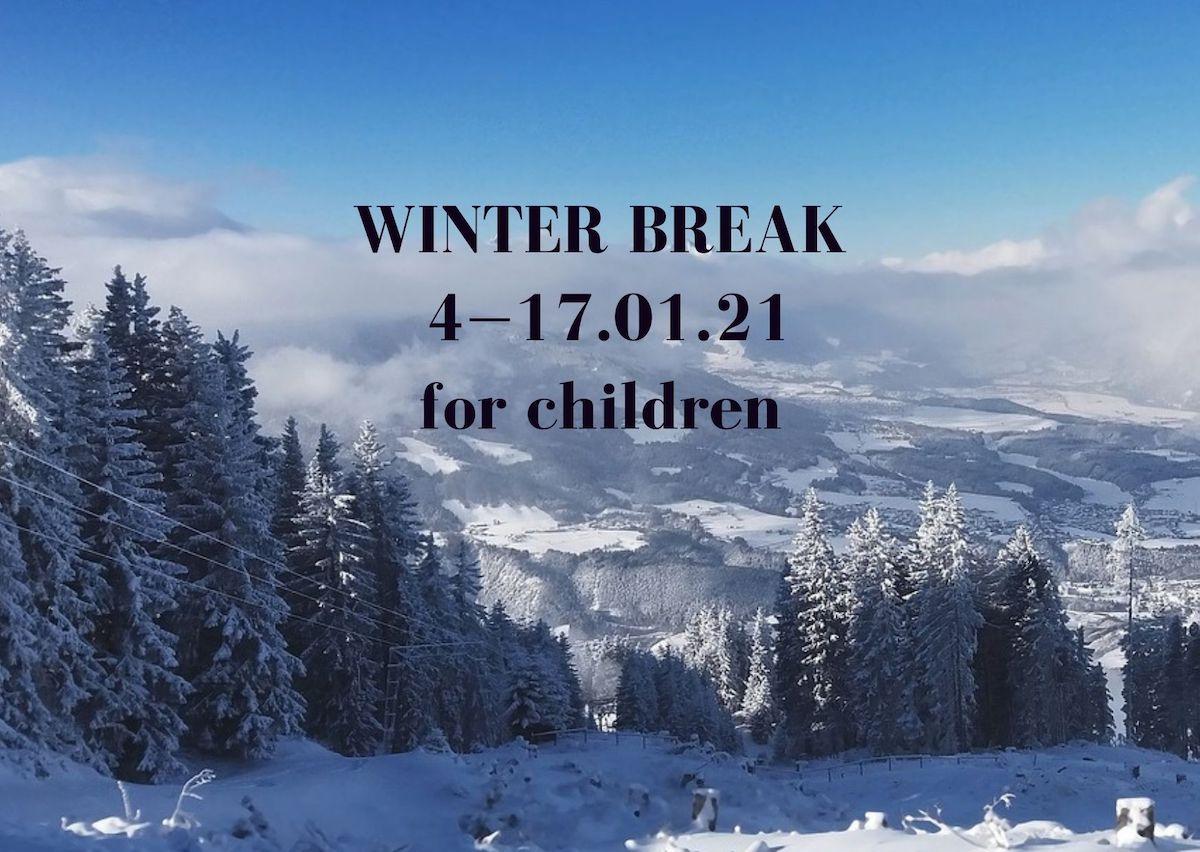 Winter break for children