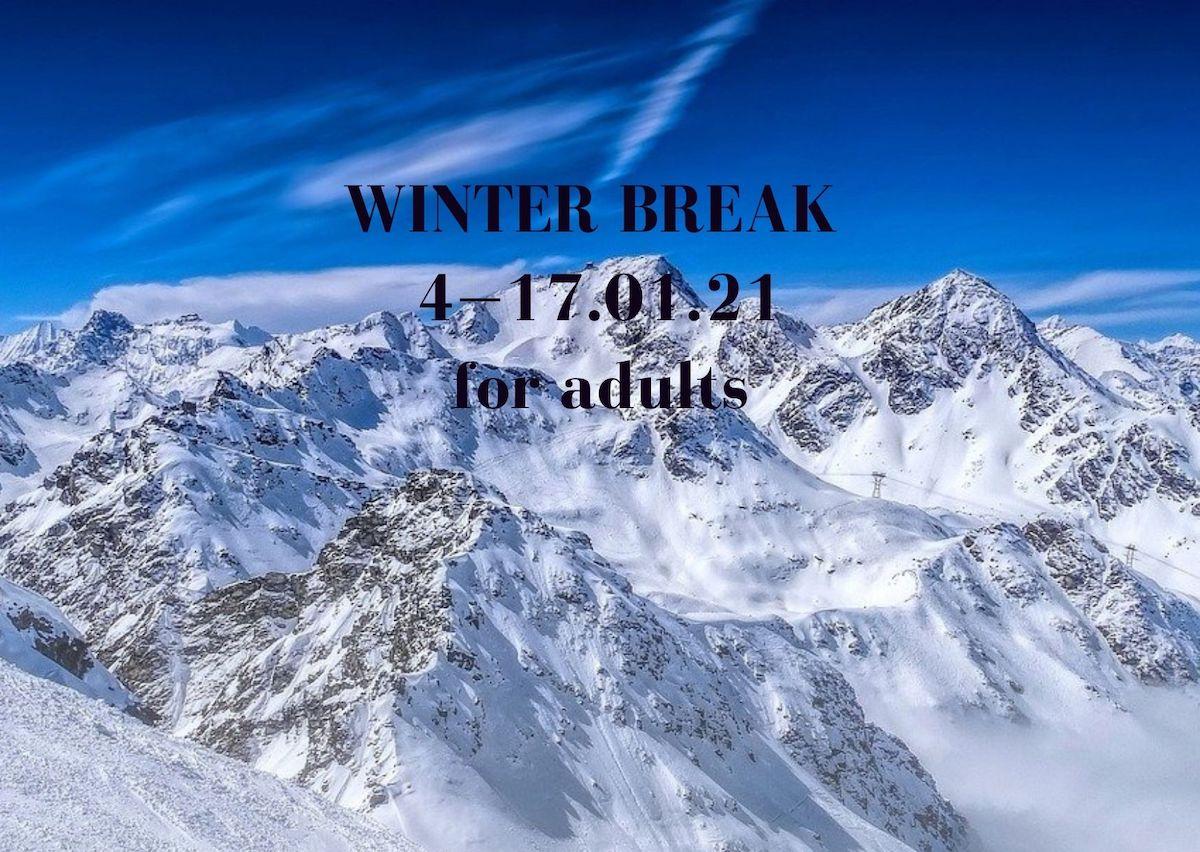 Winter break for adults