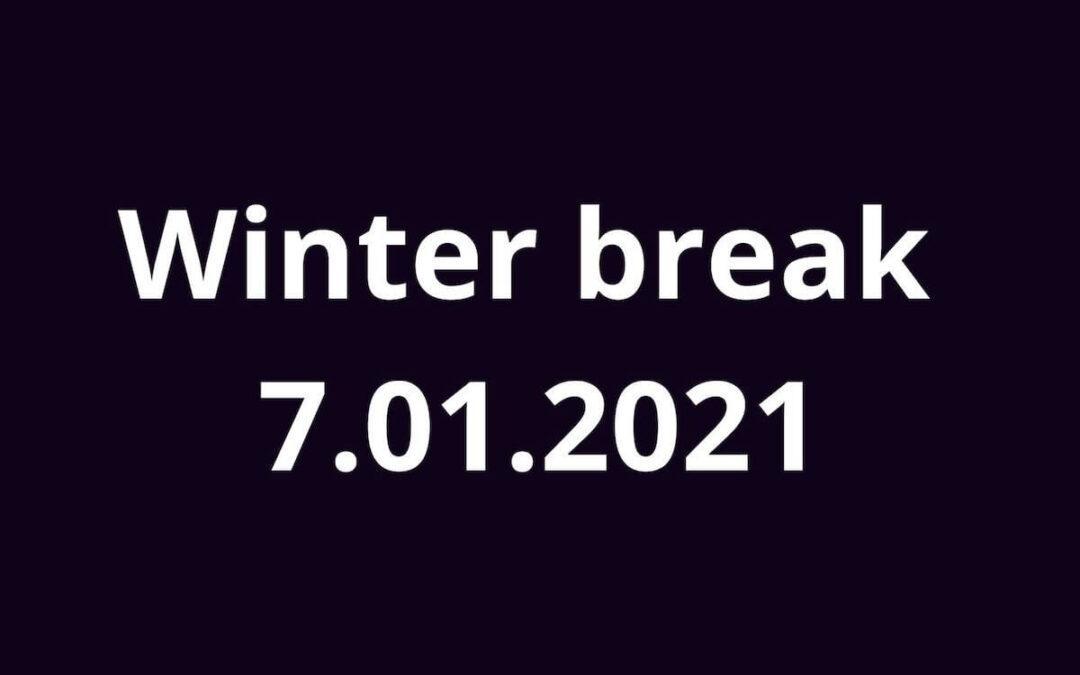 Ferie 2021 z piosenką angielską 7.01