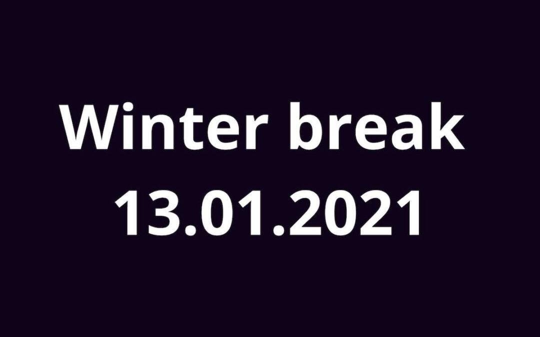 Ferie 2021 z piosenką angielską 13.01