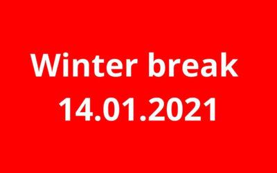 Ferie 2021 z piosenką angielską 14.01
